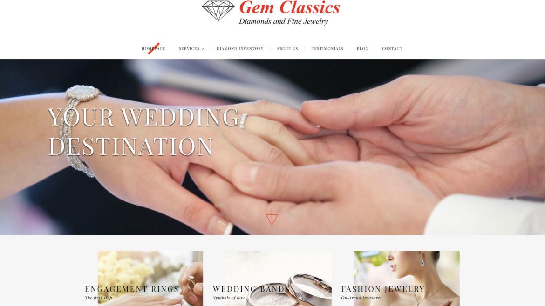 Dallas Based Jeweler Gem Classics Launches New Website