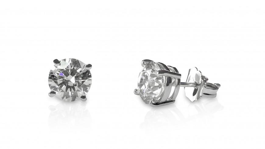 Best Diamond Stud Settings and Earring Backs For Your Earrings